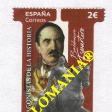 Sellos: 2020 BALDOMERO ESPARTERO PRINCIPE DE VERGARA MILITAR MILITARY ** MNH TC23861. Lote 228329935