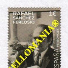 Sellos: 2020 RAFAEL SANCHEZ FERLOSIO ESCRITOR WRITER ** MNH TC23862. Lote 228329940