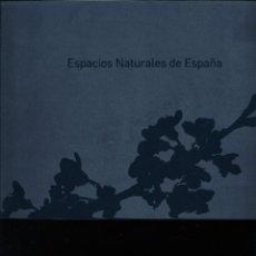 Sellos: LIBRO ESPACIOS NATURALES DE ESPAÑA. Lote 228508920