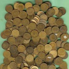 Sellos: 950 GRAMOS DE MONEDAS DE PESETA DE ESPAÑA/ESTADO ESPAÑOL DE 1944 A 1975. Lote 229121755