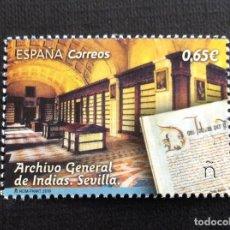 Selos: ESPAÑA Nº YVERT 5010*** AÑO 2018. ARCHIVO GENERAL DE INDIAS EN SEVILLA. Lote 229127273