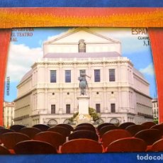 Sellos: 2017 TEATRO REAL THEATER MADRID REAPERTURA 5123 ** MNH. Lote 229843545