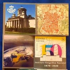 Sellos: 2020 INSTITUTO GEOGRAFICO NACIONAL NATIONAL GEOGRAPHIC INSTITUTE **. Lote 229900755