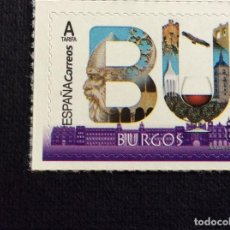 Selos: ESPAÑA Nº YVERT 5030*** AÑO 2019. PROVINCIAS.BURGOS. Lote 230105945