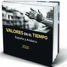 Sellos: 2020-AÑO COMPLETO DE ESPAÑA Y ANDORRA EN LIBRO-ÁLBUM DEL SERVICIO FILATÉLICO DE CORREOS SIN SELLOS. Lote 283002233