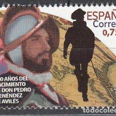 Timbres: ESPAÑA 2020 (5382) 500 AÑOS DEL NACIMIENTO DE PEDRO MENENDEZ DE AVILES (NUEVO). Lote 232769785