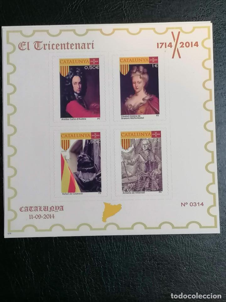 Sellos: España Cataluña Sellos Viñetas HBs Independencia año 2014 - Foto 6 - 233956105