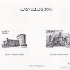 Sellos: SELLOS ESPAÑA PRUEBA CALCOGRAFICA 2009 IMPECABLE. Lote 238093590