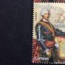 Selos: ESPAÑA Nº YVERT 5029*** AÑO 2019. 250 ANIVERSARIO CREACION REALES ORDENANZAS. Lote 239726030