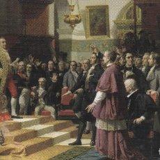 Sellos: ESPAÑA.- TARJETA CON SELLO Y MATASELLOS DEL BICENTENARIO DE LAS CORTES DE CADIZ 1810. Lote 240180450