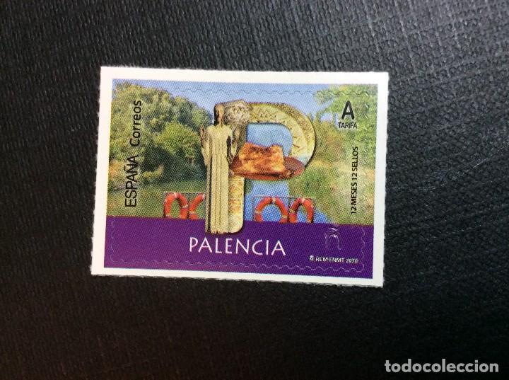 ESPAÑA AÑO 2020. PROVINCIAS.PALENCIA (Sellos - España - Felipe VI)