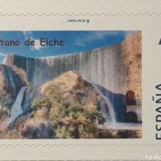 Sellos: ESPAÑA - TUSELLO - PANTANO DE ELCHE - NUEVO - TARIFA A. Lote 243830625