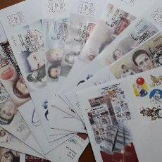 Selos: SELLOS ESPAÑA OFERTA SPD EXPO MUNDIAL DE FILATELIA ESPAÑA 2000 SERIE COMPLETA 11 SOBRES. Lote 244010135