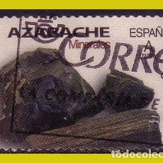 Timbres: 2020 MINERALES. AZABACHE, EDIFIL Nº 5404 (O). Lote 244170140