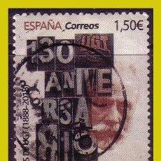 Timbres: 2019 130 AÑOS DE LA UGT, EDIFIL Nº 5330 (O). Lote 244176225