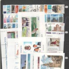 Sellos: ESPAÑA- AÑO COMPLETO 2004 SELLOS NUEVOS VALOR BAJO FACIAL (SEGUN FOTO). Lote 245731270