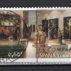 """Sellos: SELLO USADO DE ESPAÑA """"MUSEO DE LA RIOJA"""", AÑO 2017. Lote 246122790"""