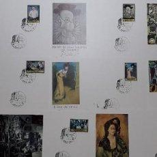 Selos: SELLOS ESPAÑA TARJETAS FLAH 1978 PICASSO SERIE COMPLETA. Lote 251308820