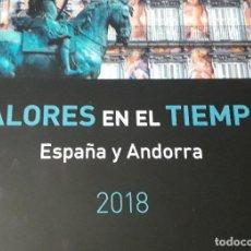 Sellos: SELLOS ESPAÑA LIBRO DE CORREOS 2018 COMPLETAMENTE MONTADO PARA SELLOS EN TRANSPARENTE. Lote 253713215