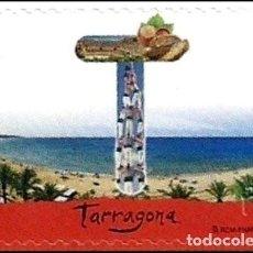 Sellos: ESPAÑA 2017 EDIFIL 5109 SELLO ** LETRAS GRANDES 12 MESES 12 SELLOS TARRAGONA CARQUIÑOLES, CASTELLS. Lote 254497730