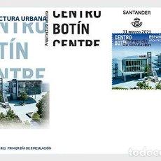 Sellos: SPAIN 2021 - BOTIN CENTRE, SANTANDER FDC. Lote 254580415