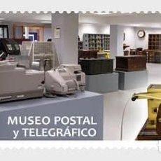 Sellos: SPAIN 2021 - MUSEUMS - POSTAL AND TELEGRAPH MUSEUM MNH. Lote 254613785
