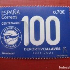 Selos: 2021, CENTENARIO DEL CLUB DEPORTIVO ALAVES.. Lote 254982235