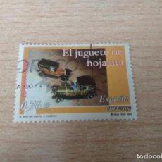 Sellos: SELLO USADO ESPAÑA - AÑO 2003 - EL JUGUETE DE HOJALATA - 0,76 €. Lote 257680275