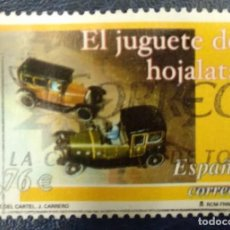 Timbres: ESPAÑA 2003. EDIFIL 3982. EUROPA. JUGUETE DE HOJALATA. USADO. Lote 258162375