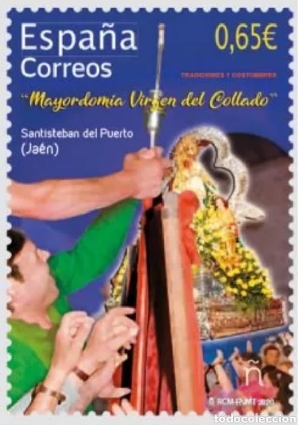 ESPAÑA 5411 MAYORDOMÍA VIRGEN DEL COLLADO (Sellos - España - Felipe VI)