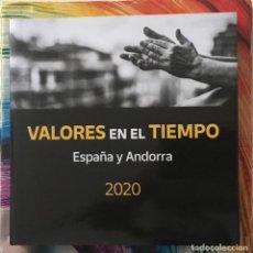 Sellos: 2020-ESPAÑA LIBRO CORREOS ESPAÑA Y ANDORRA COMPLETO - FACIAL SUPERIOR A 210 € -. Lote 261362450