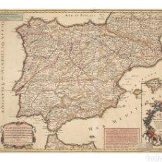 Sellos: ESPAÑA 2021 EFEMÉRIDES 300 ANIVERSARIO DEL PRIMER MAPA POSTAL NUEVO MNH. Lote 262301930