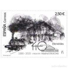 Sellos: [C0259.1] ESPAÑA 2021. 140 ANIV. ESTACIÓN DE DELICIAS. MADRID (MNH). Lote 265170449