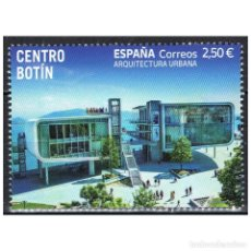 Sellos: [C0256.1] ESPAÑA 2021. CENTRO BOTÍN. SANTANDER (MNH). Lote 265174854