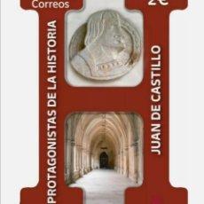 Sellos: ESPAÑA 2021 PROTAGONISTA DE LA HISTORIA - JUAN DE CASTILLO - NUEVO MNH. Lote 265484269