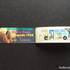 Sellos: ESPAÑA Nº YVERT 5166 *** AÑO 2020. BIBLIOBUS. Lote 265654444