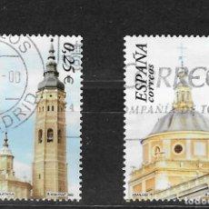 Selos: ESPAÑA Nº 3936 Y 3937 (0). Lote 267170739