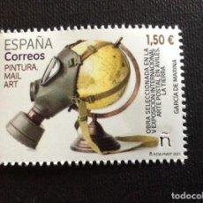 Sellos: ESPAÑA AÑO 2021. PINTURA MAIL ART. Lote 267682764
