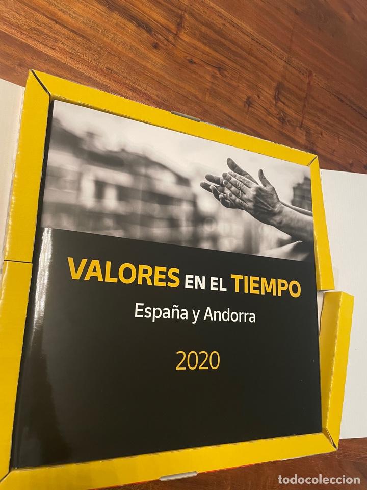 SELLOS ESPAÑA Y ANDORRA AÑO 2020 LIBRO VALORES EN EL TIEMPO (Sellos - España - Felipe VI)