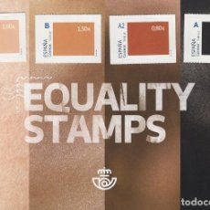 Sellos: LUCHA CONTRA EL RACISMO - EQUALITY STAMPS - CANCELADO !!!!!. Lote 269377888