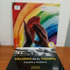 Sellos: ESPAÑA, LIBRO DE CORREOS VALORES EN EL TIEMPO 2020 CON TODOS LOS SELLOS (FOTOGRAFÍA ESTÁNDAR). Lote 269964208
