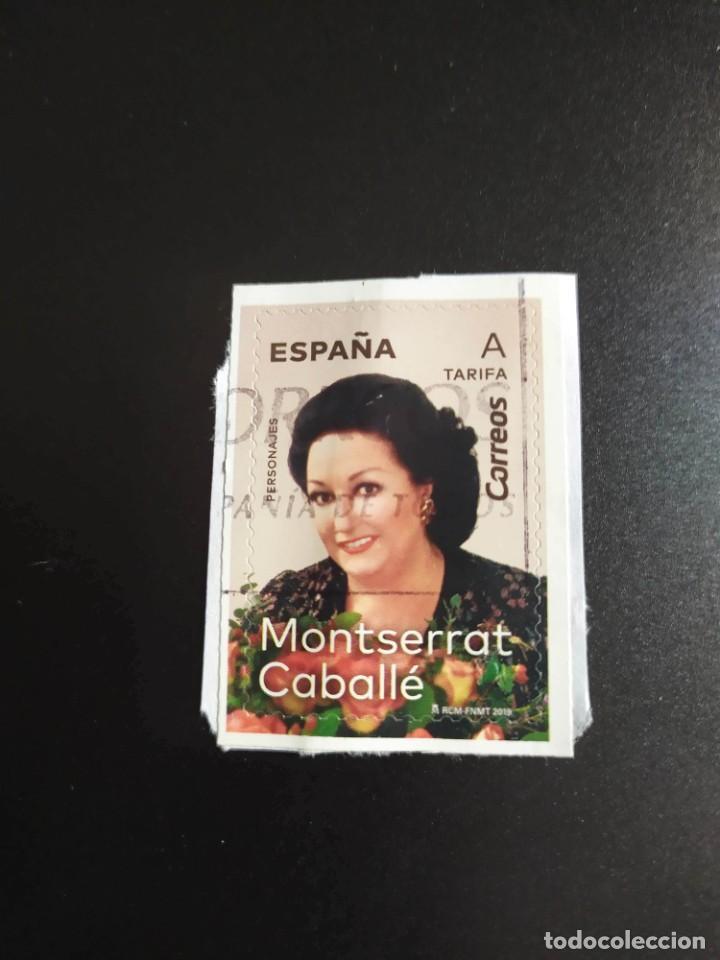 ##ESPAÑA - MONTSERRAT CABALLE 2019 USADO ## (Sellos - España - Felipe VI)