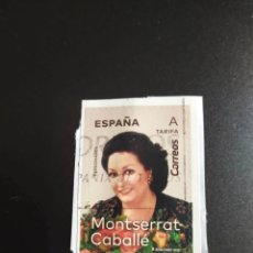 Sellos: ##ESPAÑA - MONTSERRAT CABALLE 2019 USADO ##. Lote 270205123
