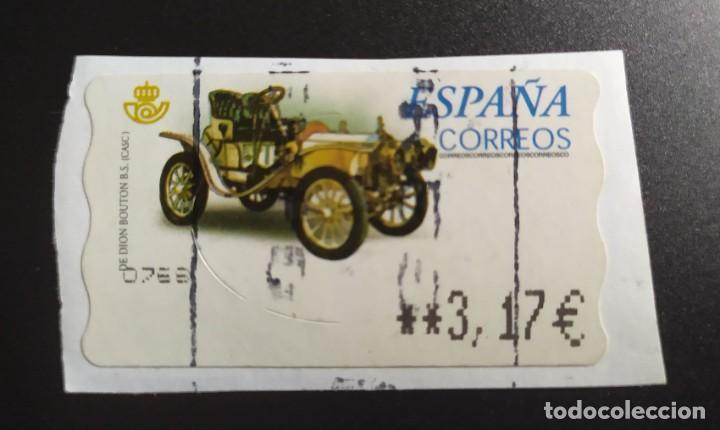 ##ESPAÑA - ATM COCHES CLASICOS ## (Sellos - España - Felipe VI)