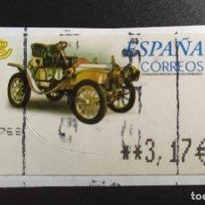 Sellos: ##ESPAÑA - ATM COCHES CLASICOS ##. Lote 270224923