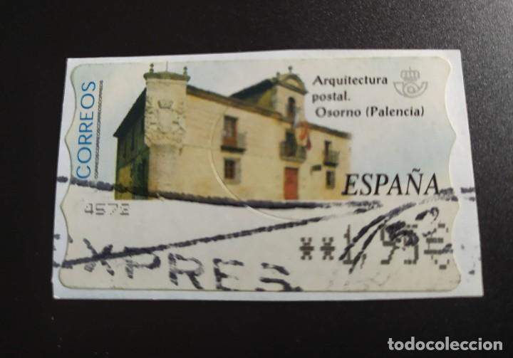 ##ESPAÑA - ATM ARQUITECTURA POSTAL USADO## (Sellos - España - Felipe VI)