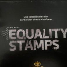 Sellos: SELLOS ANTI RACISMO DE CORREOS ESPAÑA. EQUALITY STAMPS. EDICIÓN ÚNICA Y RETIRADA. Lote 277093673