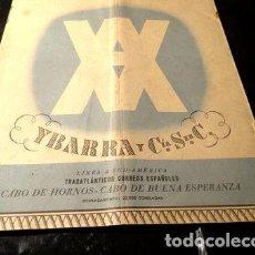 Sellos: MARITIMO TRASATLANTICO CORREOS ESPANOLES C HORMOS Y B ESP. Lote 277407403
