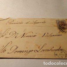 Sellos: ESPANA 1871 MADRID A STO DOMINGO LACALZADA LOGRONO VER. Lote 277409918