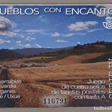 Sellos: CARNÉ NUEVO PUEBLOS CON ENCANTO 2019, EDIFIL 5294D. Lote 278269178